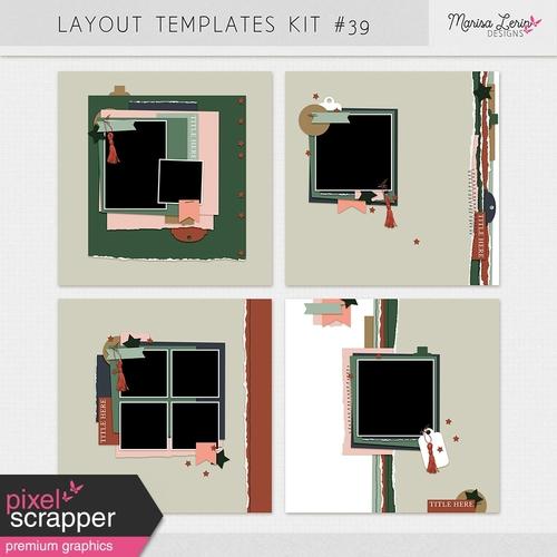 Layout Templates kit #39