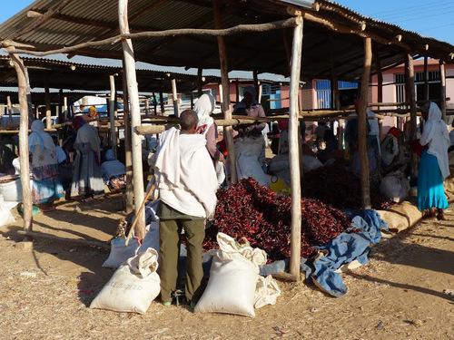 le petit marché de Hausien, suite