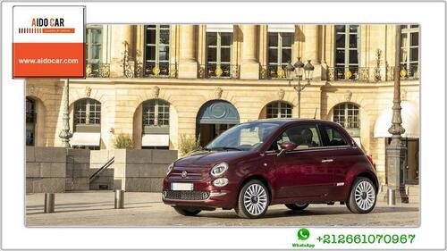 Location voiture Casablanca – Fiat 500 automatique