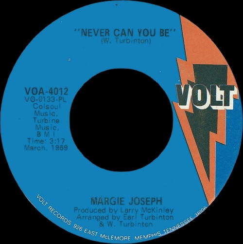 "Margie Joseph "" Makes A New Impression "" Volt Records VOS-6012 [ US ]"