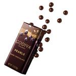 Perles de chocolat noir Godiva
