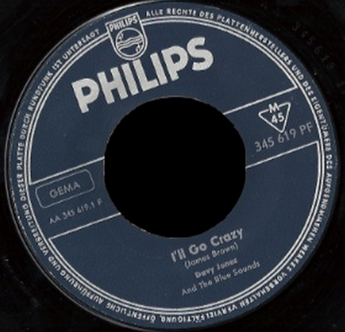 1965 : Single SP Philips Records 345.619 PF [ GE ]