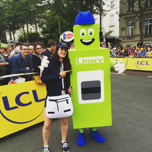 LINKY : Mascotte du Tour de France!