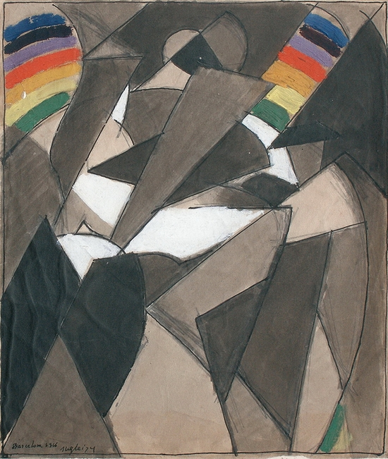 Albert Gleizes, Composition, 1916