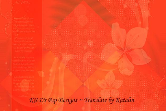 K@D's Psps Designs - Autmnal