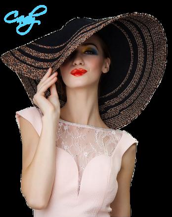 Nők, kalapban