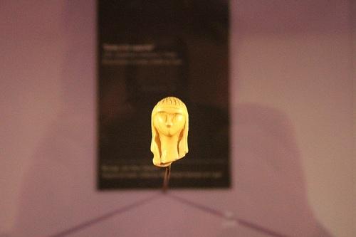 Brassempouy, visite du musée de la Dame