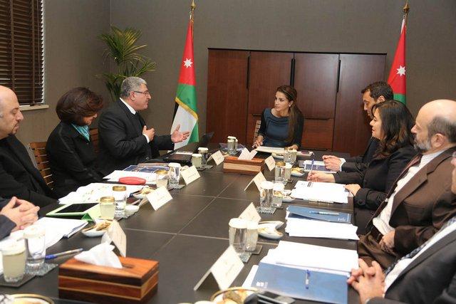 Rania et la Fondation Jordan River