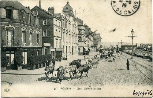 "Rouen ""avant"", Rouen ""maintenant"" !!!"