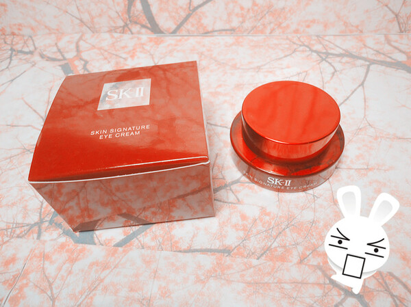 SK-II - Skin Signature Eye Cream...Mes yeux! MES YEUUUX!!!
