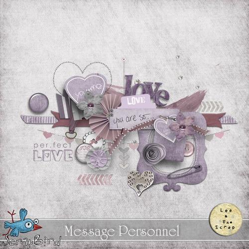 MESSAGE PERSONNEL by LéaUgoScrap
