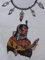 Indien Mandan, tee-shirt