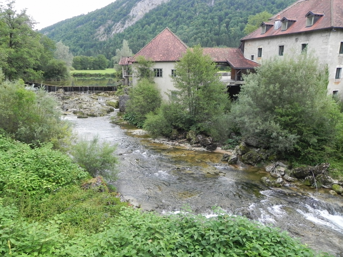 Syam le château dans le Jura
