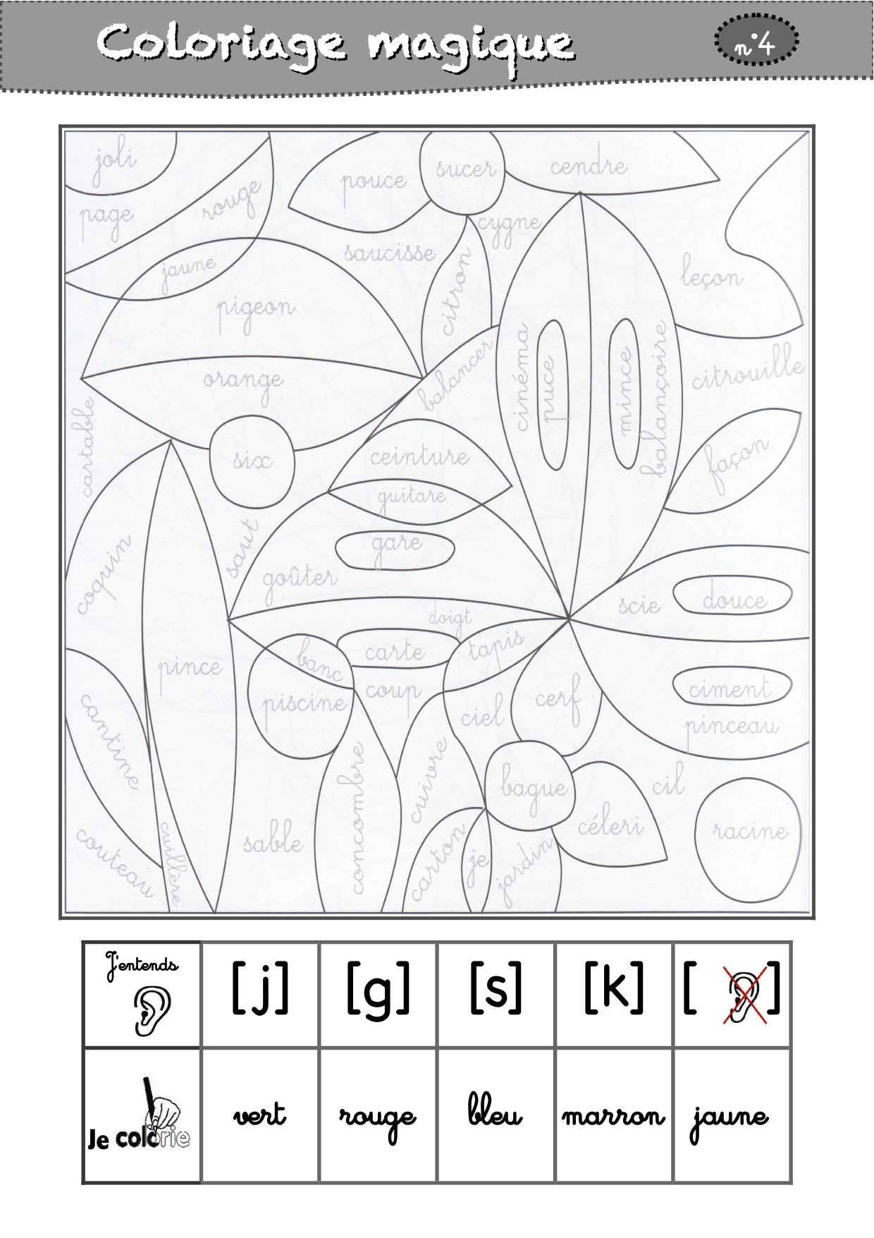Coloriage Magique Fin Cp Maths.Coloriages Magiques Cp La Classe De Luccia