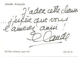 Claude François chante NOËL 1/4