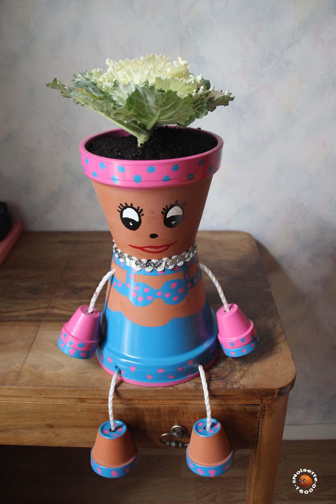 pots en terre cuite décorés - angoulême
