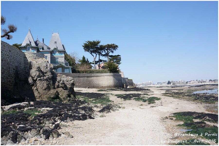 Pouliguen, la Pointe de Penchâteau