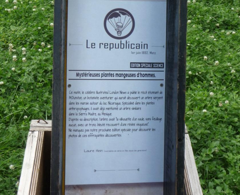 ... au Jardin Botanique...j