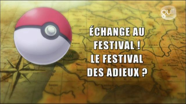 Échange au Festival !