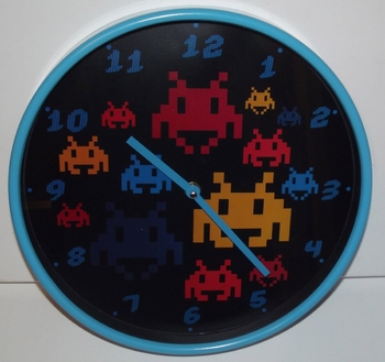 Divers horloge space invaders 04