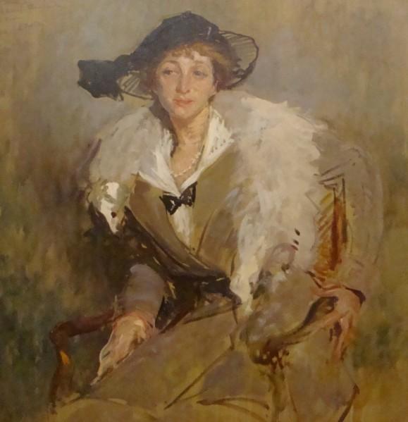 Jacques Emile Blanche (étude pour la Comtesse)