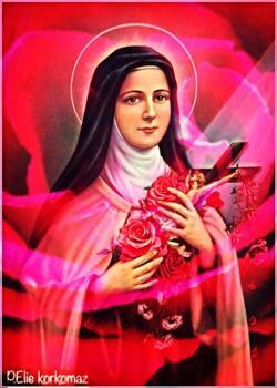 Sainte Thérèse de l'Enfant-Jésus, prie pour nous !