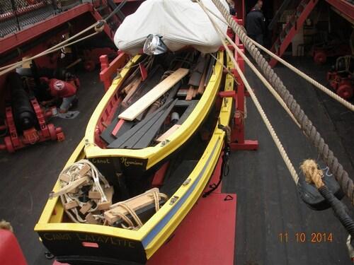 Hermione - Visite du bateau Samedi 11 Octobre 2014