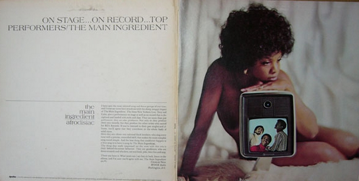 "The Main Ingredient : Album "" Afrodisiac "" RCA Victor Records LSP-4834 [ US ]"