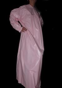 Chemise de nuit Pvc Rose