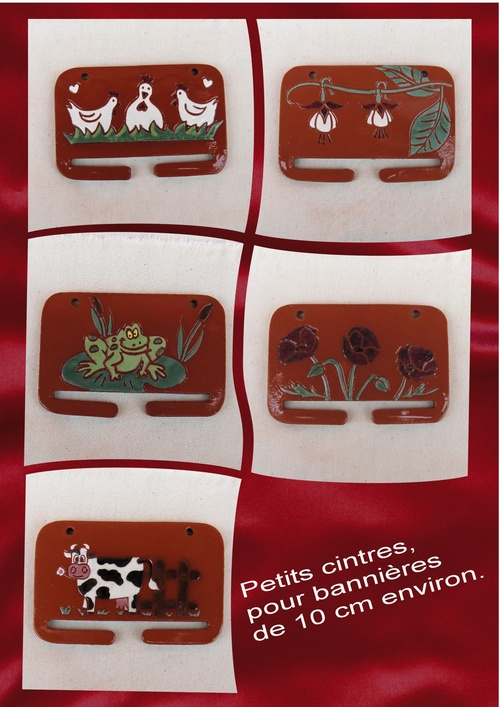 Petits cintres pour broderies