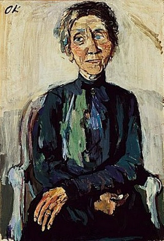 Oskar Kokoschka, Portrait de madame Reuther