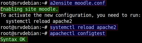 Installer Moodle sur Debian Stretch