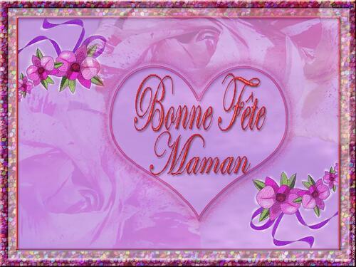 Texte images , cartes fêtes des Mamans