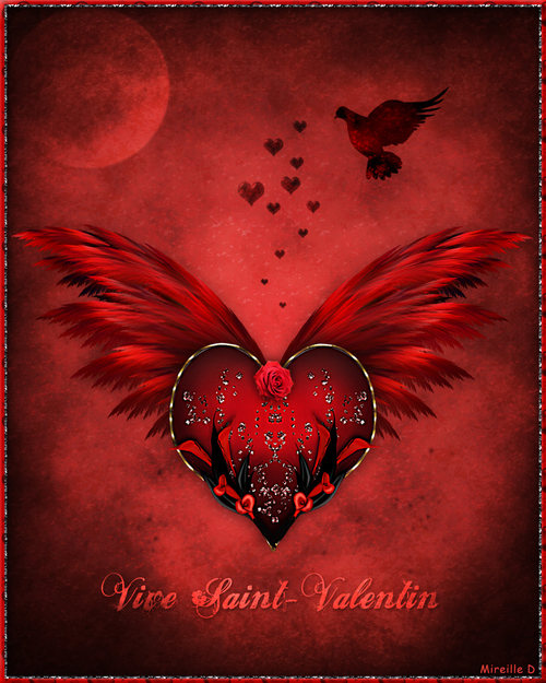 Carte Design pour Saint-Valentin