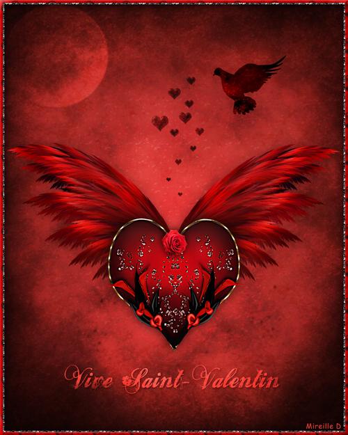 Carte Design pour Saint-Valentin