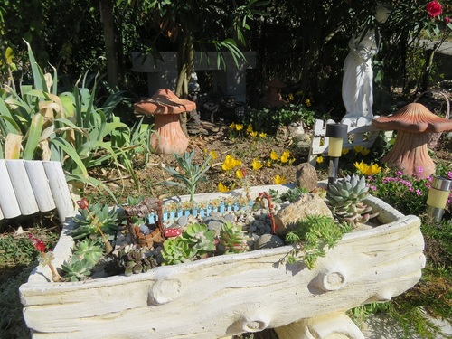 jardinage d'octobre