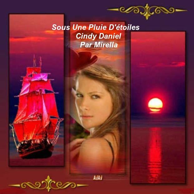 Sous Une Pluie D'étoiles     Cindy Daniel        Par Mirella
