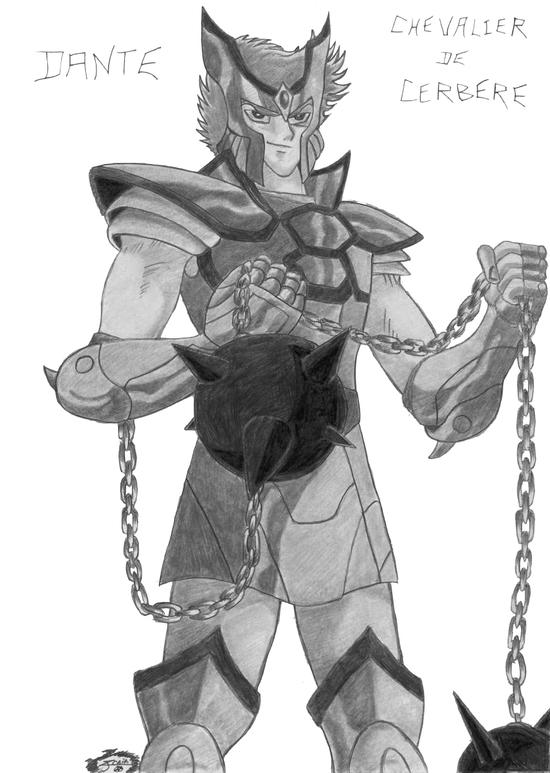 manga les chevalier du zodiaque - dante