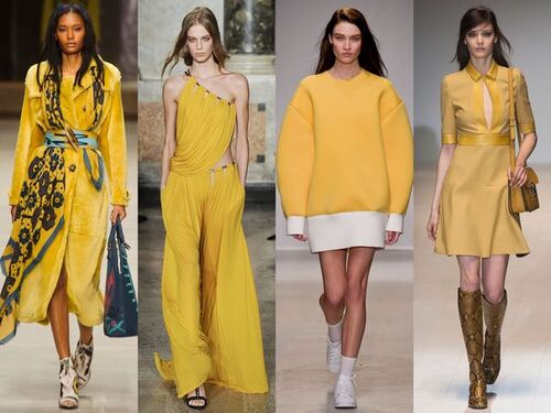 MODE- - été- 4 règles d'or pour porter la couleur jaune