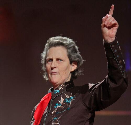 Temple Grandin à la Conférence TED en 2010