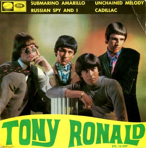 Tony Ronald - Submarino amarillo