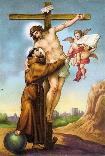François d'Assise et la miséricorde de Dieu - Suzanne