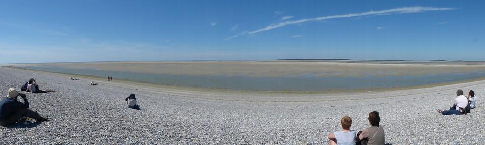 La Baie de Somme à marée basse