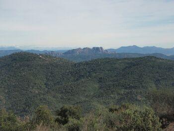 La montagne de Roquebrune