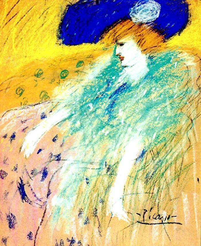 4.Picasso /  Barcelonne ...Paris 1900