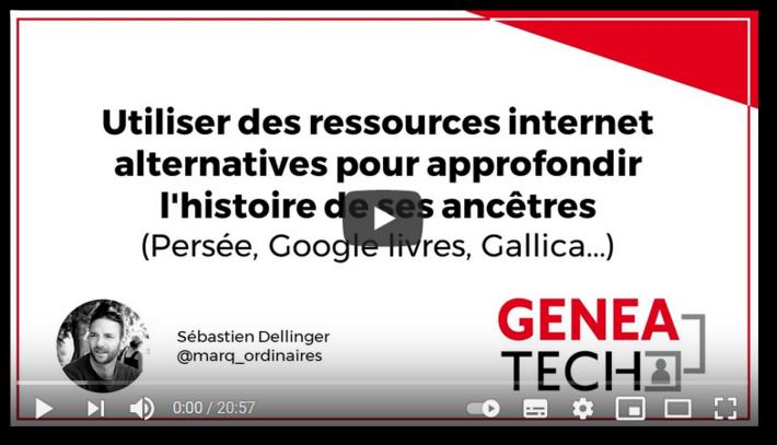 Utiliser des ressources internet alternatives pour approfondir l'histoire de ses ancêtres