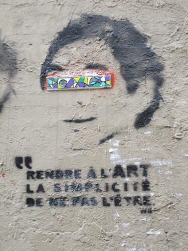 art simplicité street-art 3