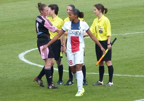 PSG - Arras (3-0) football féminin - 13 octobre 2013