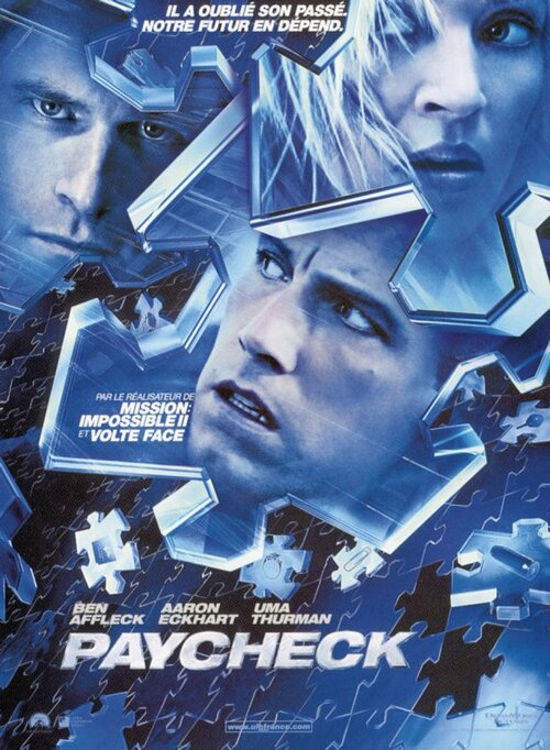 PAYCHECK BOX OFFICE FRANCE 2004