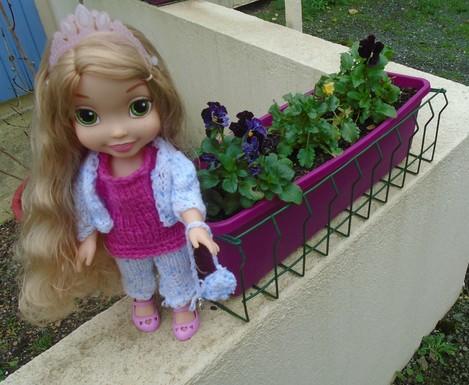 Raiponce et le Garden jardin